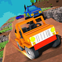 Blocky Car Stunts : Impossible Tracks v1.0