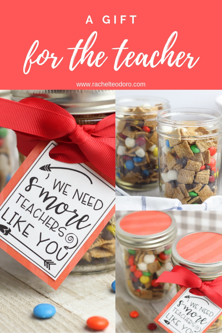 teacher appreciation gift ideas with free printable