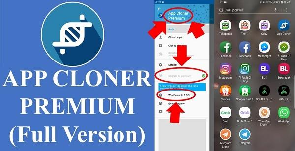 Dijaman modern kini ini kita sudah sanggup menduplikat atau mengkloning sendiri sebuah a App Cloner Premium Apk v1.5.19 Update Terbaru 2019