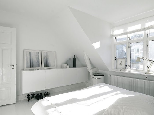 comoda en blanco para dormitorio chicanddeco