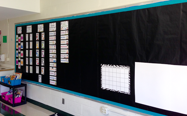 Kindergarten classroom meeting area