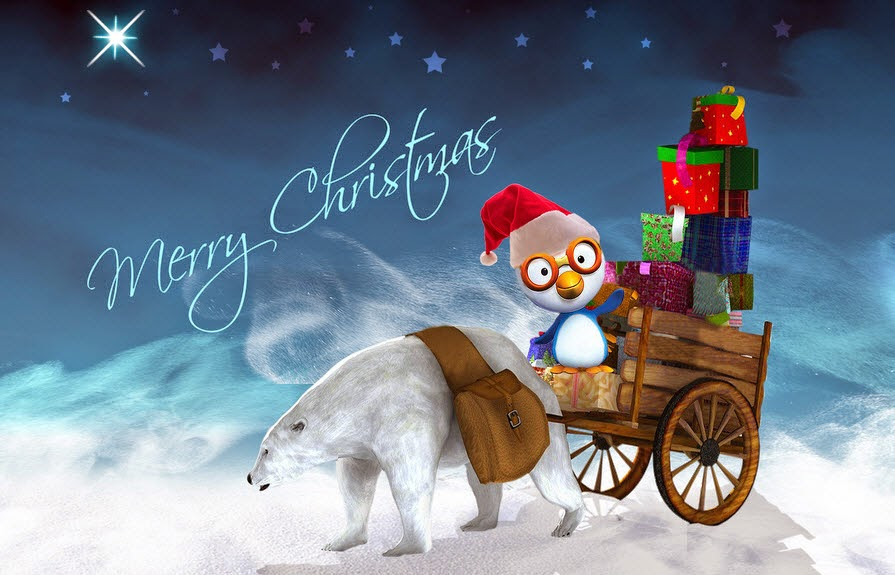 Merry Christmas Facebook Status Wallpapers