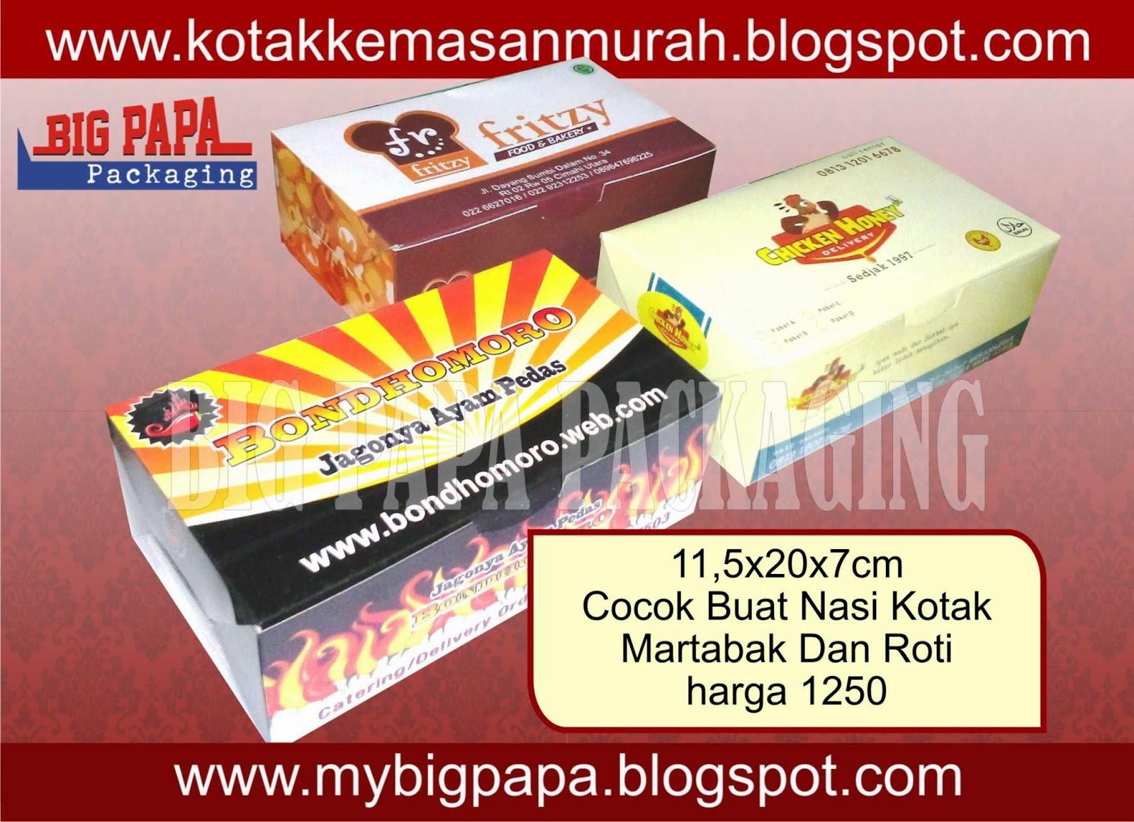 box nasi, kotak martabak