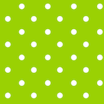 green white polka dot pattern