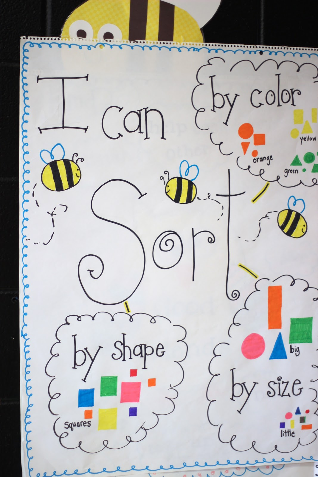 First Grade Blue Skies More Sorting Shapes Amp Freebie