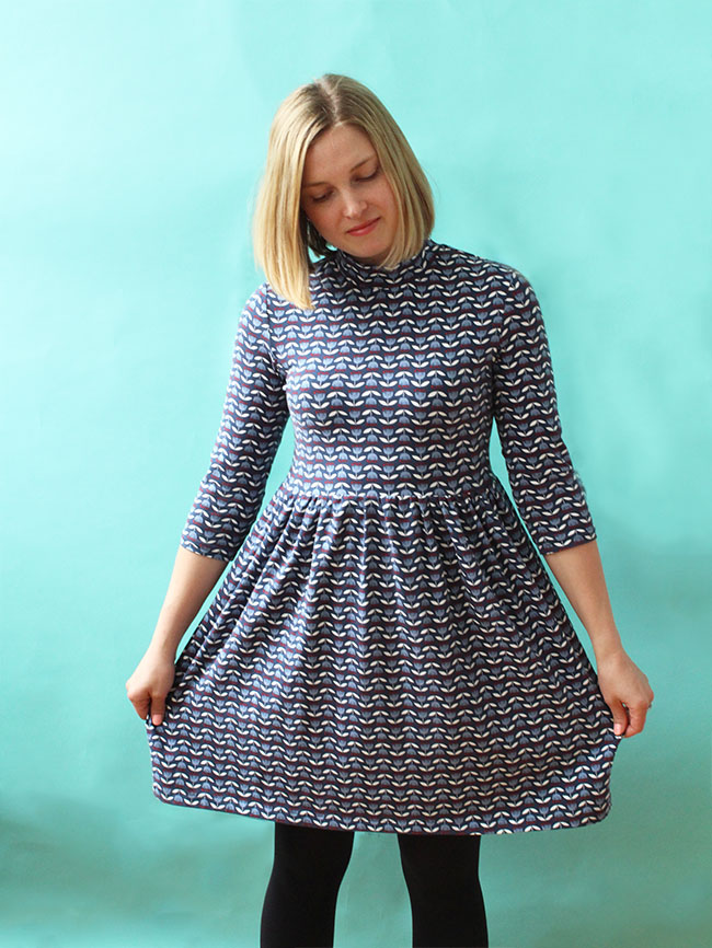 Freya dress - sewing pattern by Tilly and the Buttons