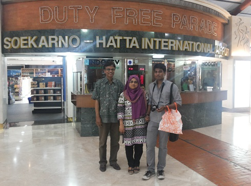 At the Soekarno–Hatta International Airport, 2013