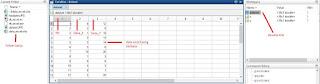 view data workspace di MATLAB