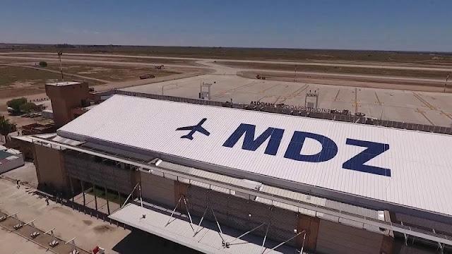 Sobre o aeroporto de Mendoza