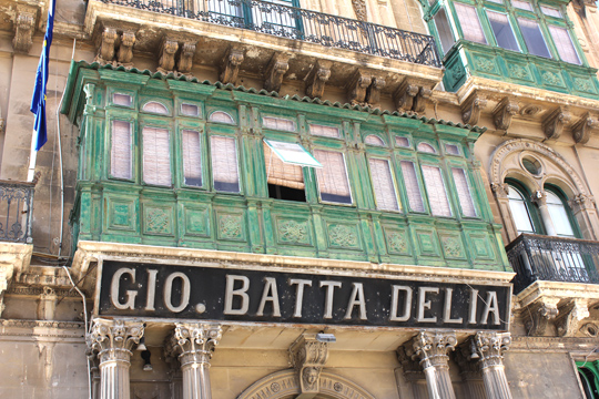 valletta sign malta travel guide
