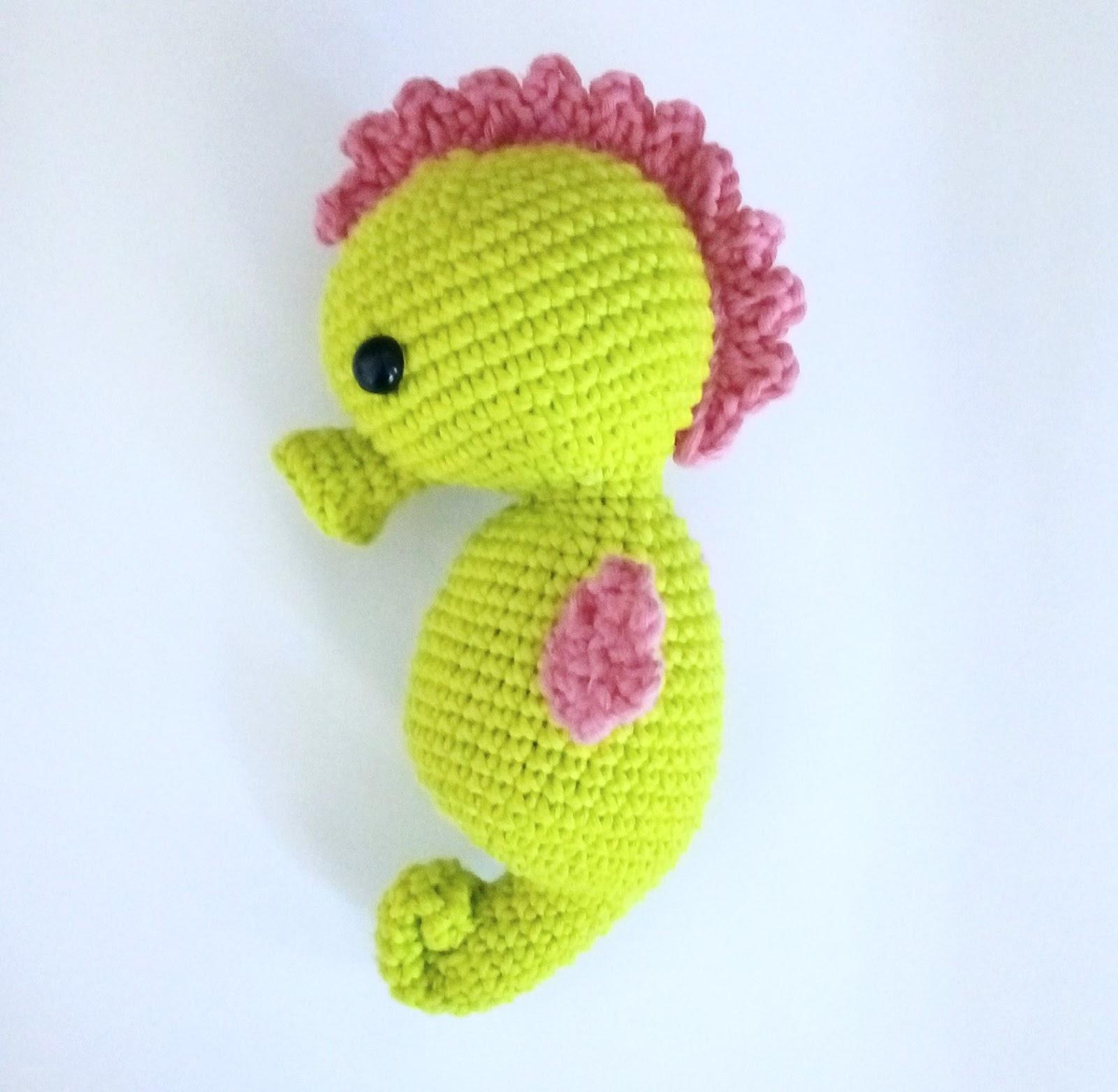 My Baby Seahorse Twisty Craft