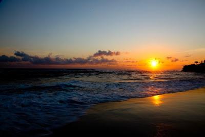 Senja di Pantai Ratenggaro, Sumba Barat, NTT