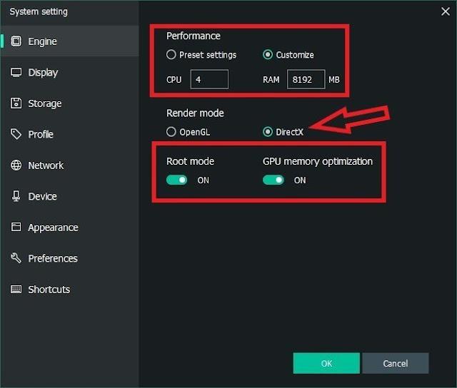 Memu Emülatör Oyun için En İyi Ayarlar ve Performans Optimizasyonu