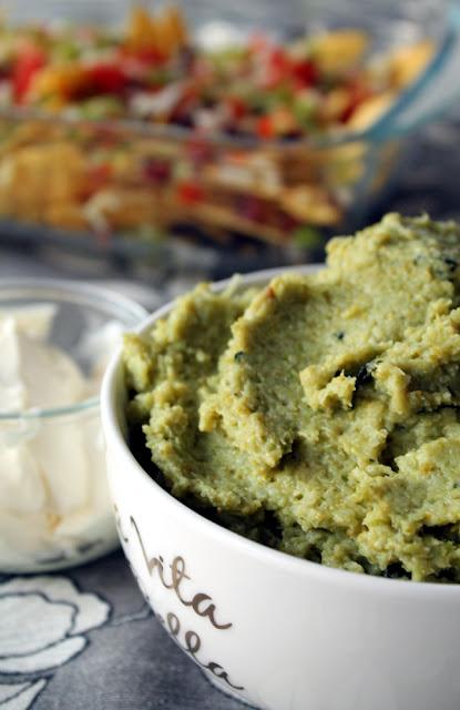 Brocomole: guacamole bajo en grasa con brócoli