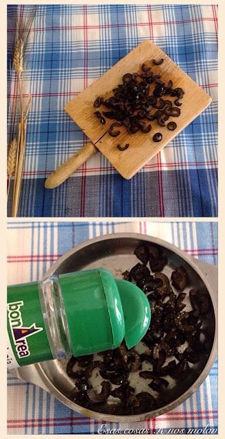 trocear olivas
