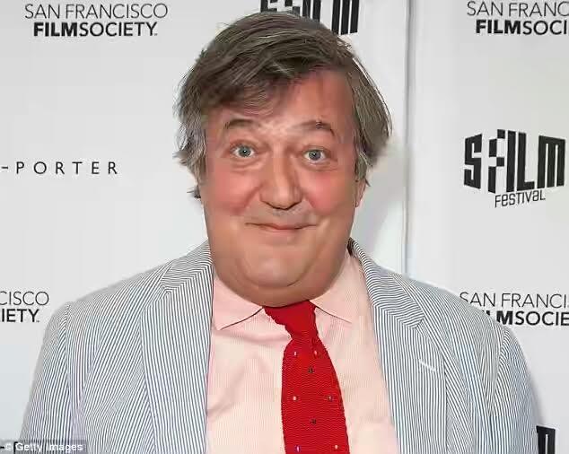 English comedian Stephen Fry under investigation for blasphemy