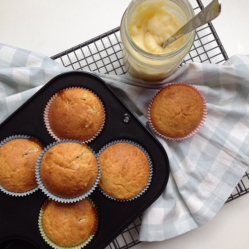 Lemon Curd Muffins nach Hugh Fearnley-Whittingstall