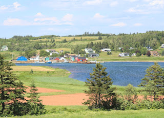 French River fishing village on Prince Edward Island