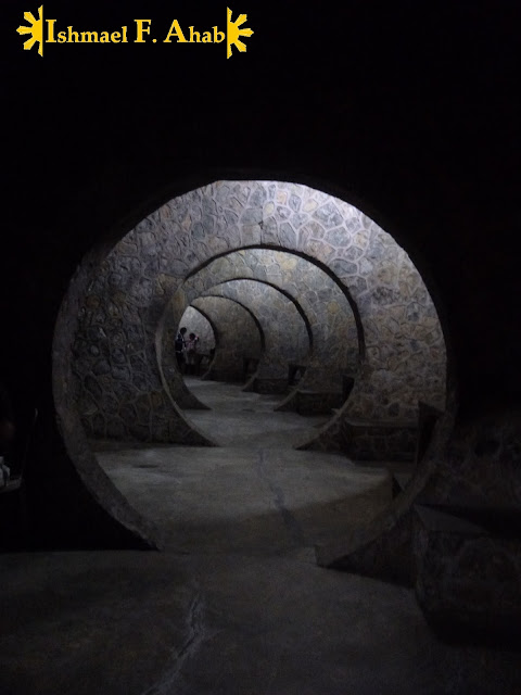 Tunnel in Tops Busay, Cebu City