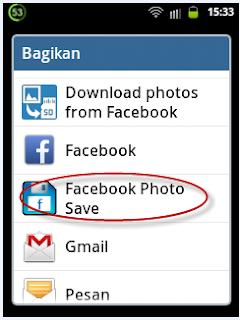 Tutorial facebook photo save