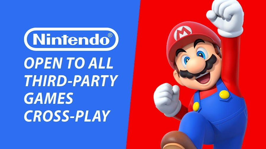 nintendo open crossplay third party games