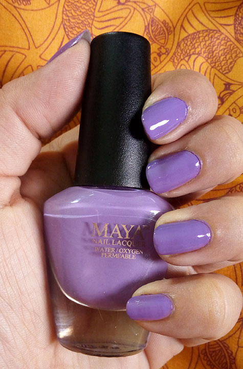 Wudhu Friendly Maya Nail Polish - Halal and Hot - RedAliceRao