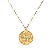 December Birthstone Pendant with Poinsettia - Satya Jewelry - Jewellery Blog