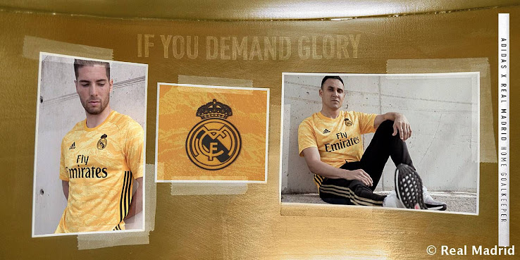 huge discount 32b1f 9c1a7 Real Madrid 19-20 Goalkeeper Kit Released - Footy Headlines