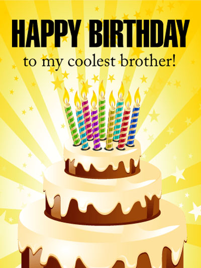 Happy Birthday Brother Wishes | Quotes | Messages and Images