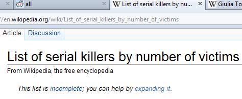 no thanks wikipedia