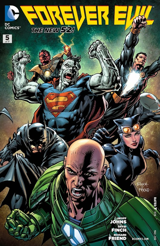 What the Hell is up with Forever Evil #5?