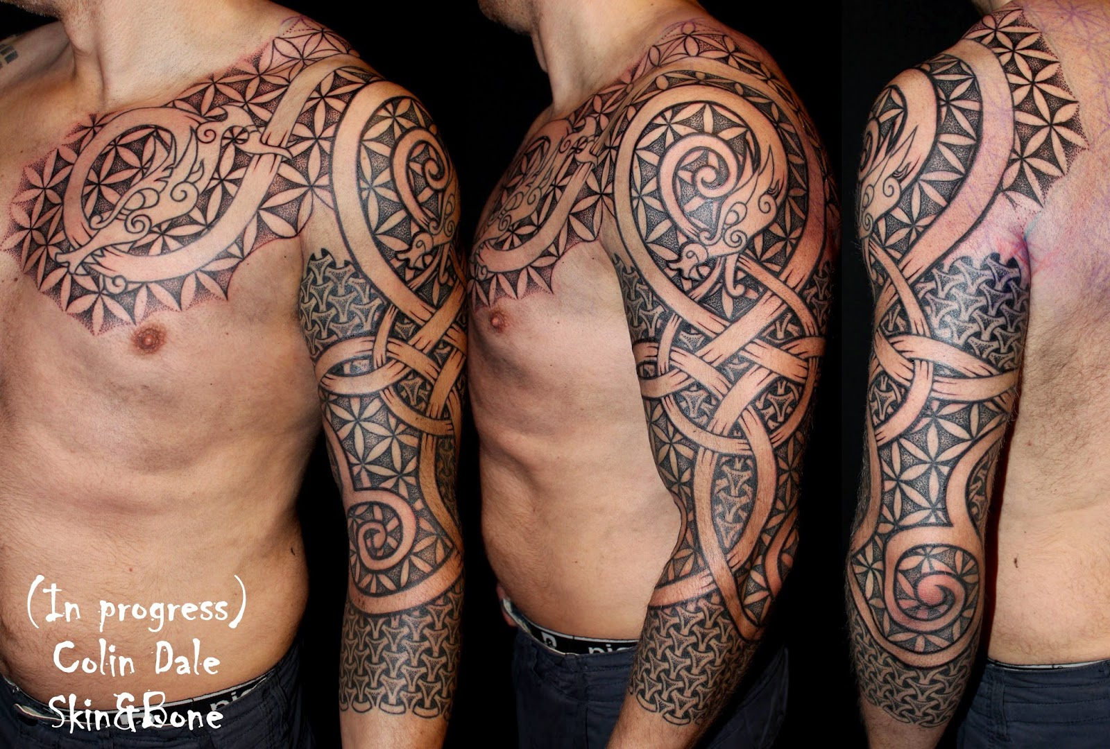 SKiN&BoNE: Artistic Process: These people gave me their ...Norse Viking Tattoos