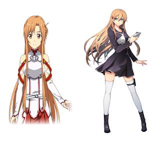 Asuka from Xanadu looks like Asuna from SAO