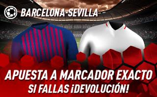sportium Copa del Rey promo Barcelona vs Sevilla 30 enero 2019