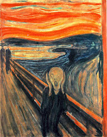 The Scream by artist Edvard Munch