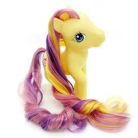 MLP Petite Petunia Super Long Hair Let
