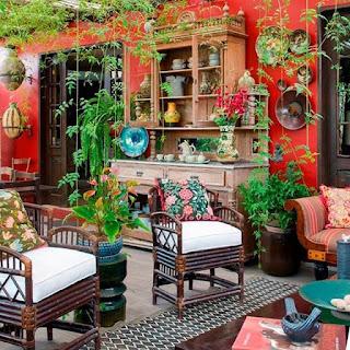 Kolorowe wazony, donice i rośliny inspirowane stylem Iris Apfel!