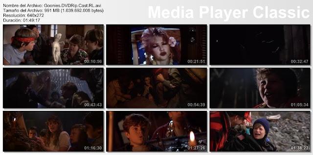 Los Goonies (1985) | capturas de pantalla