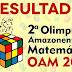CONFIRA: Seduc divulga a lista dos vencedores da Olimpíada Amazonense de Matemática