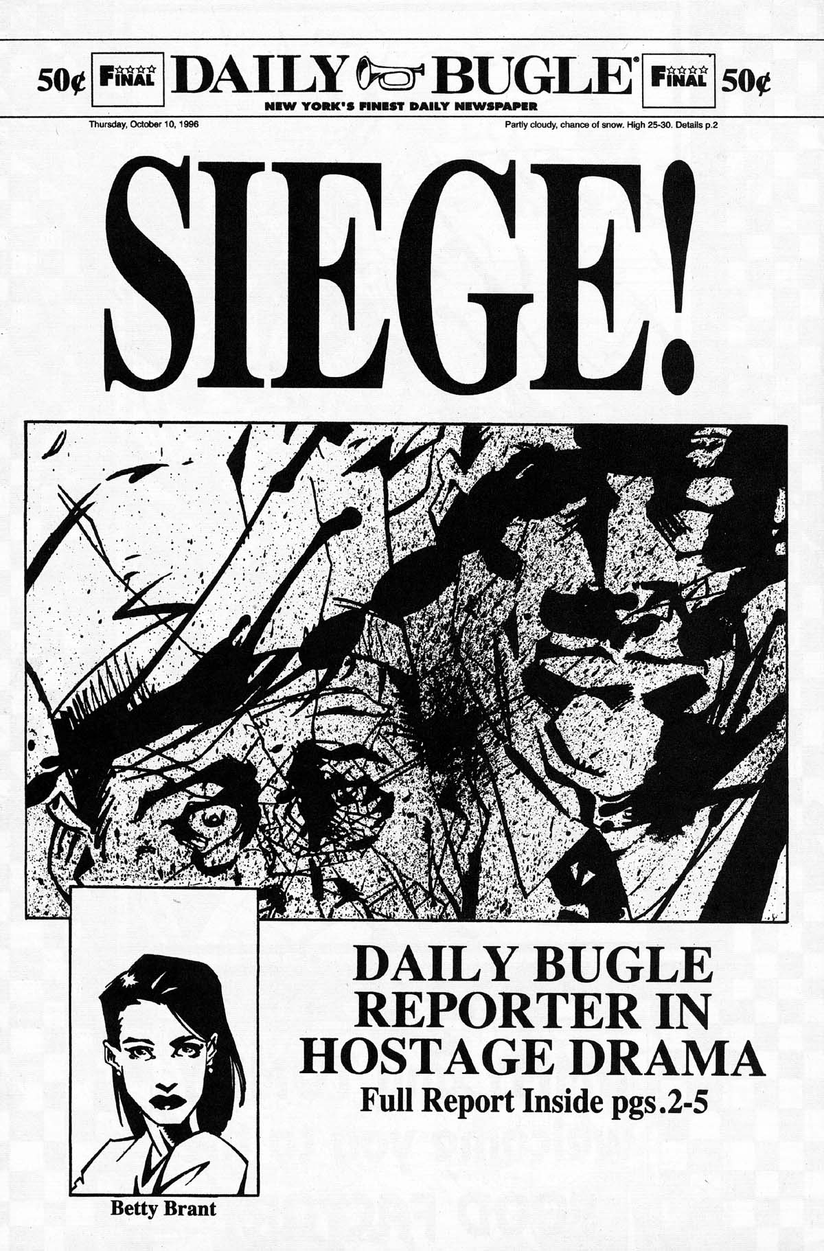 Read online Daily Bugle (1996) comic -  Issue #3 - 32