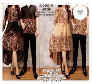 couple toraja cp pasangan samaan kembaran cewe cowo batik songket etnik baju koko pria lengan panjang tunik kemeja baju pesta lebaran