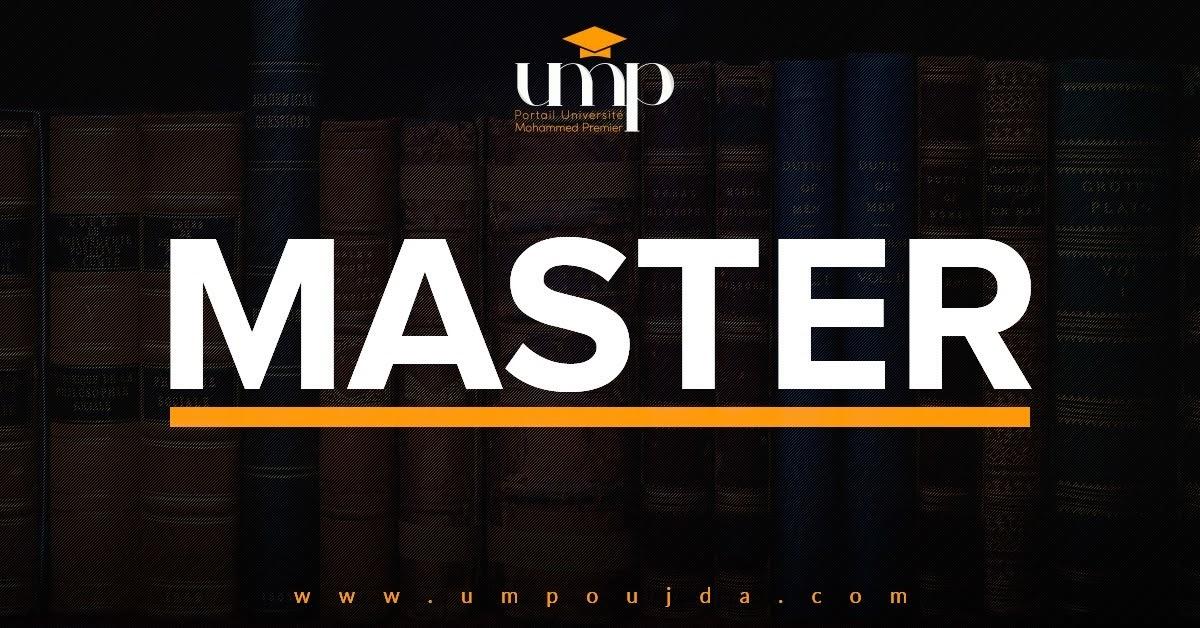 """FSJES Oujda : Liste de présélection """"Master Economie, Finance et Développement"""" 2018/2019"""