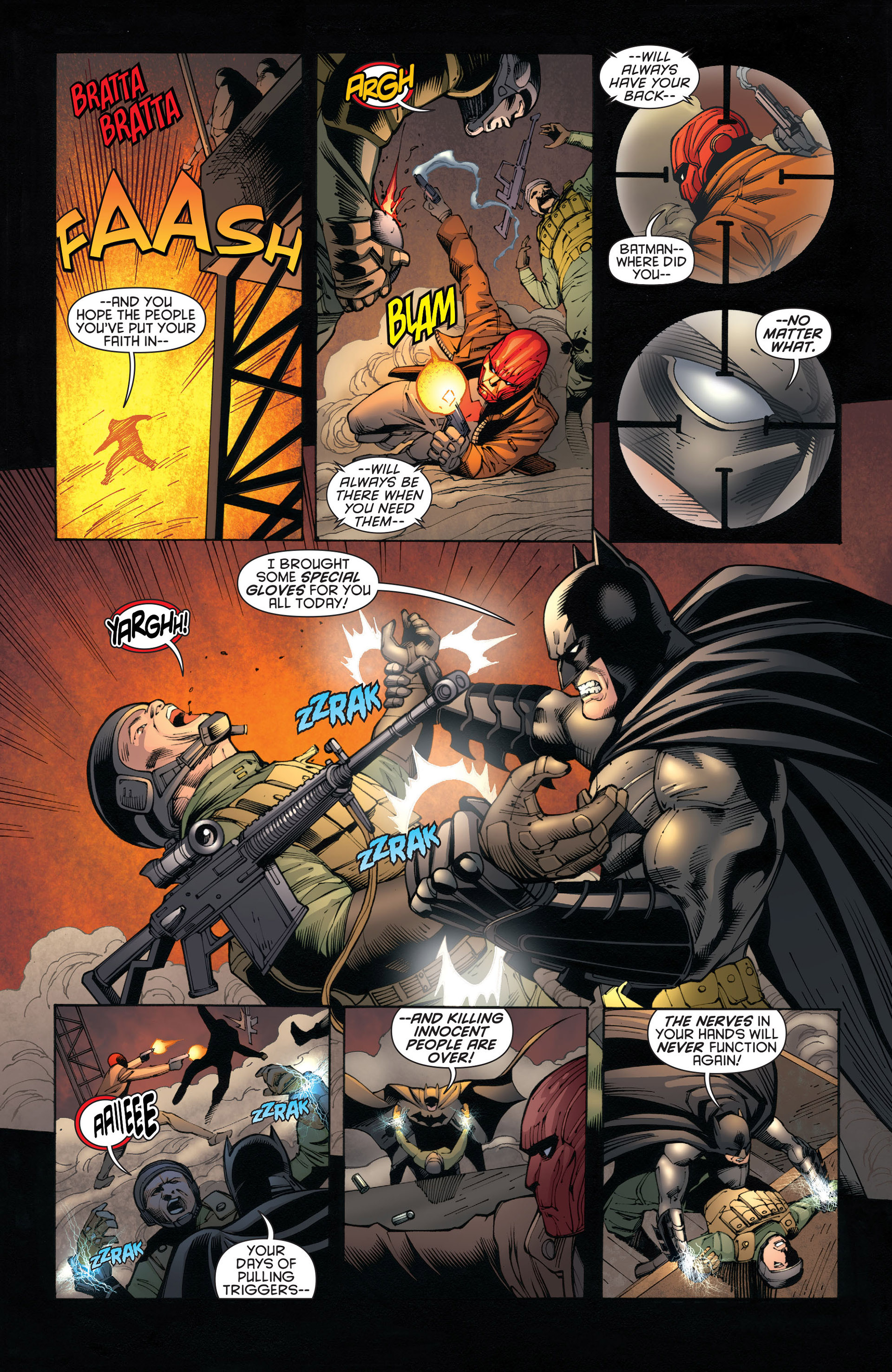 Read online Batman and Robin (2011) comic -  Issue #20 - 14