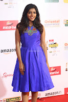 Eesha in Cute Blue Sleevelss Short Frock at Mirchi Music Awards South 2017 ~  Exclusive Celebrities Galleries 031.JPG