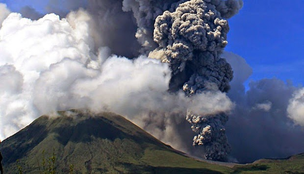 Sejarah Letusan Gunung Papandayan