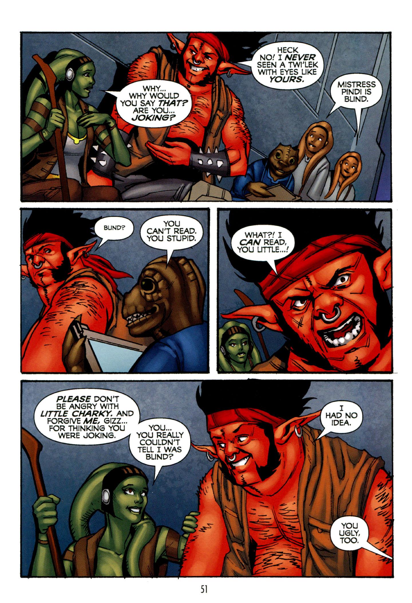 Read online Star Wars: The Clone Wars - Strange Allies comic -  Issue # Full - 52