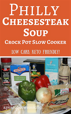 Great low carb, paleo and keto friendly dinner option that makes the entire family happy! Fantastic dump it in crockpot slow cooker  soup. Recipe from ayearofslowcooking.com