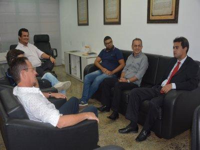Ver. Carlos Viegas Jr. Visita a TV Câmara de João Pessoa-PB