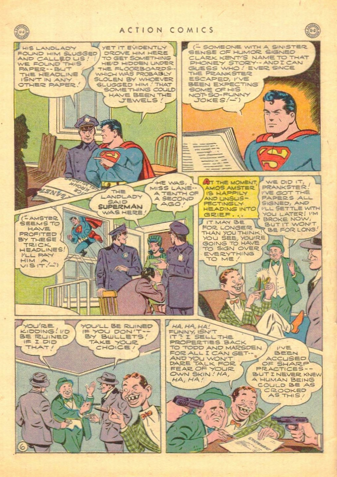 Read online Action Comics (1938) comic -  Issue #77 - 7