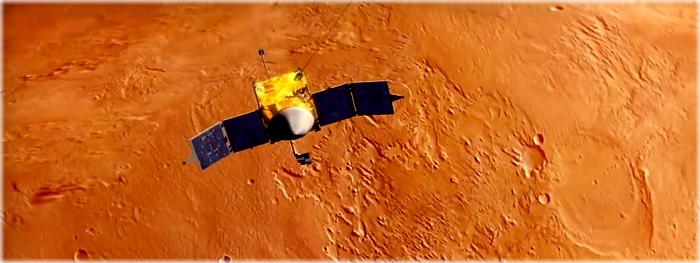 MAVEN faz manobra de emergencia para evitar colisão com Phobos